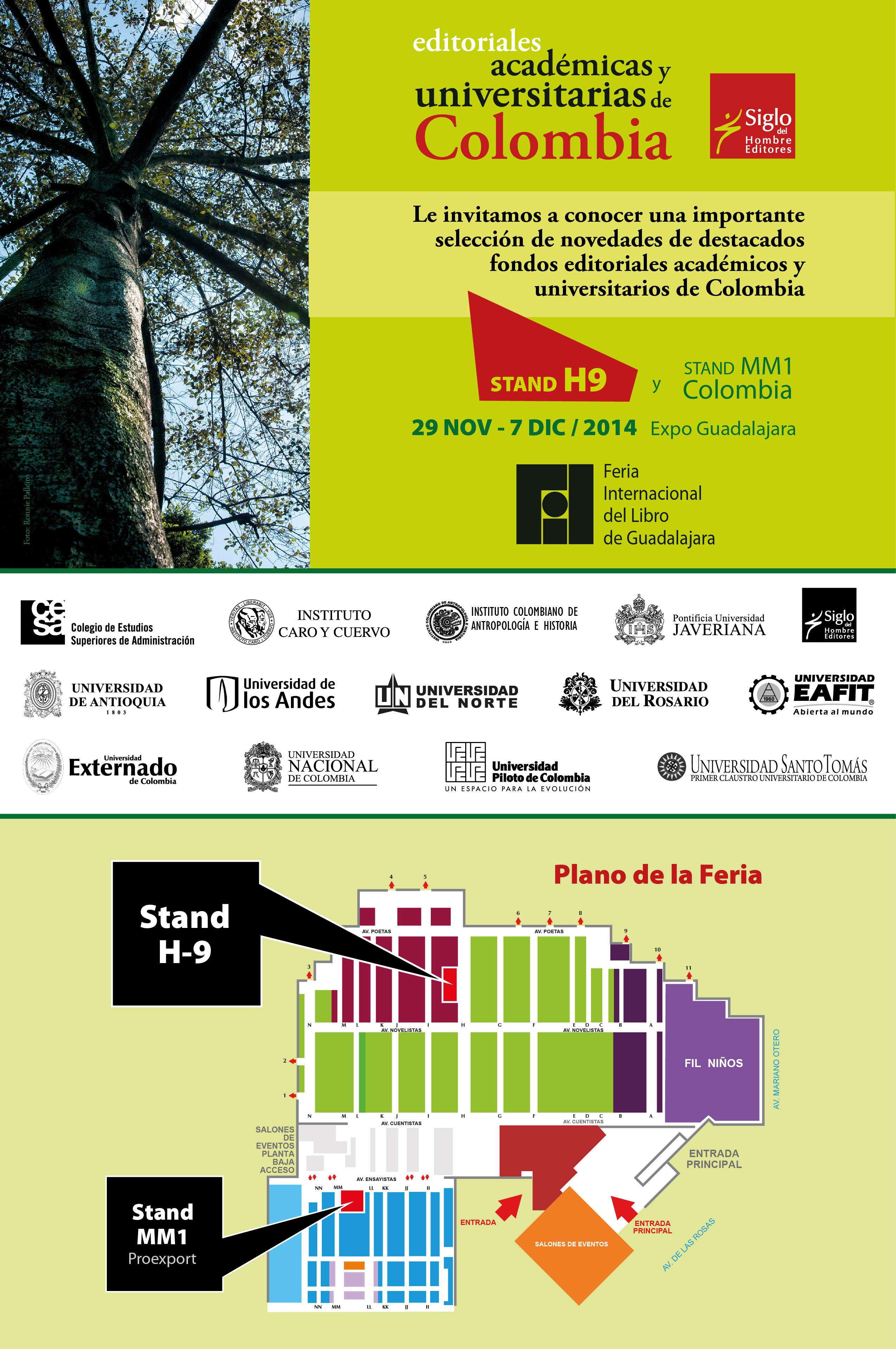 Feria del libro de Guadalajara 2014